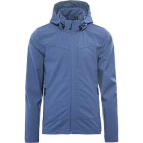 axant Alps Giacca Softshell Uomo, ensign blue